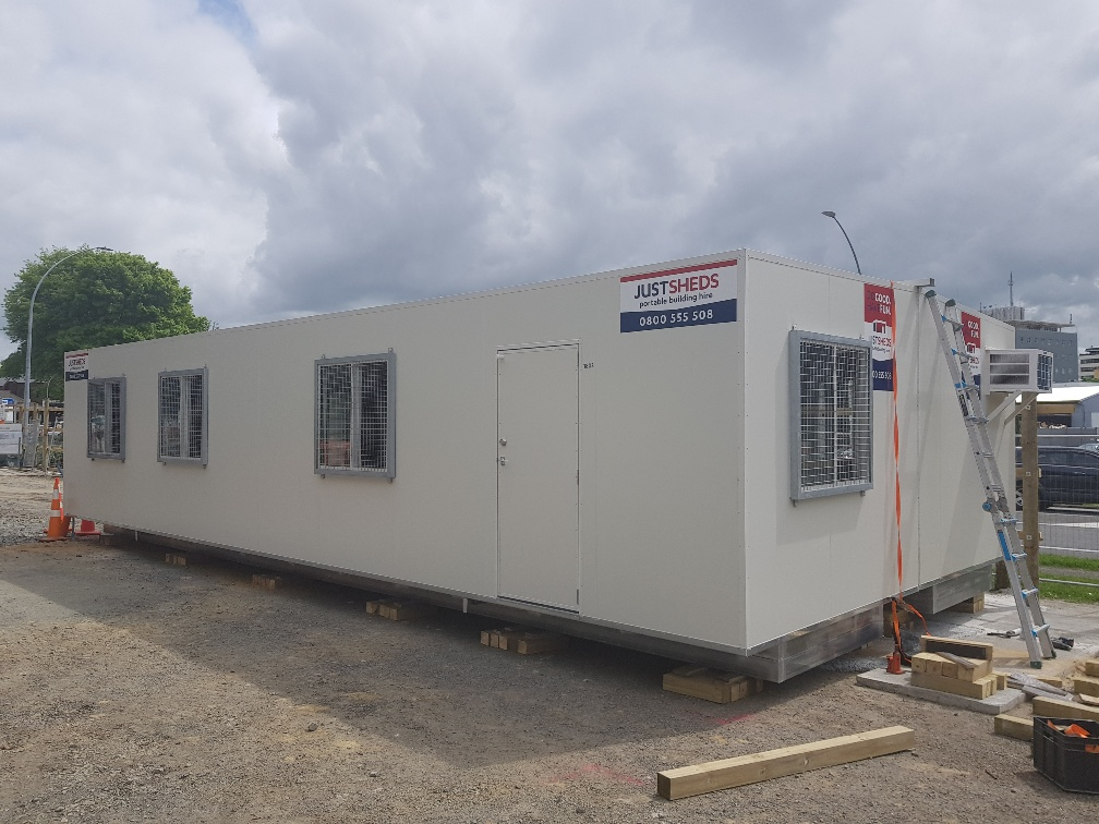 portable site office building