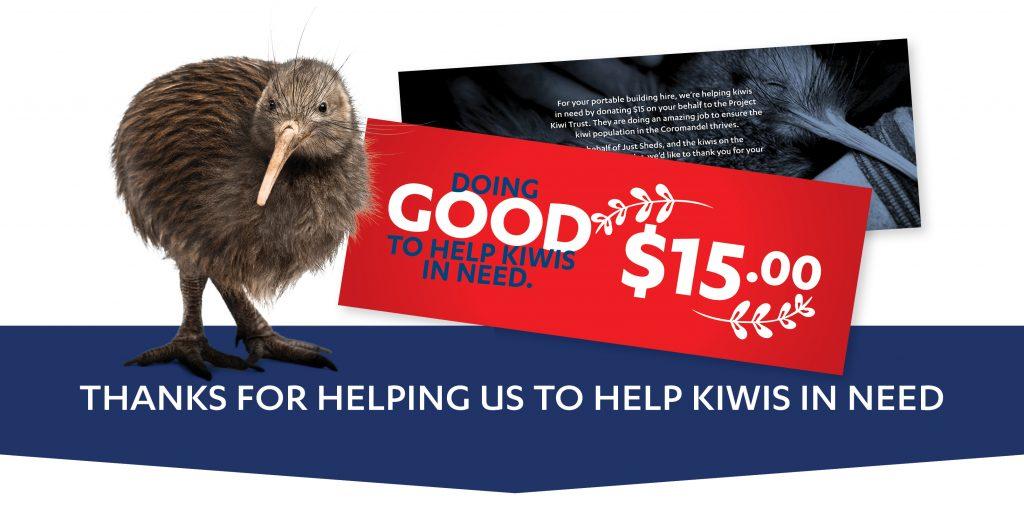 Just Sheds helping Kiwis