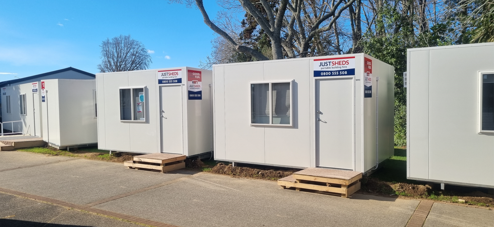 portable site office hire